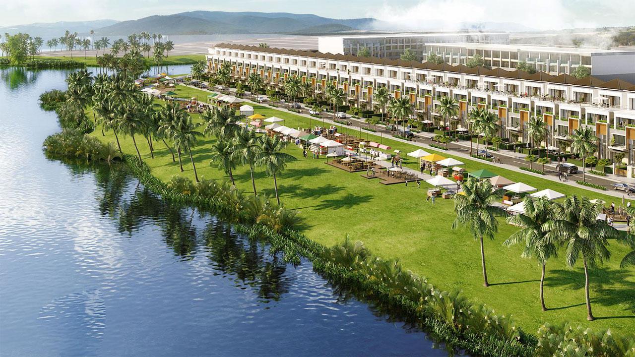KĐT sinh thái Nam Hòa Xuân thu trọn tài lộc, vượng khí từ dòng sông Đô Tỏa