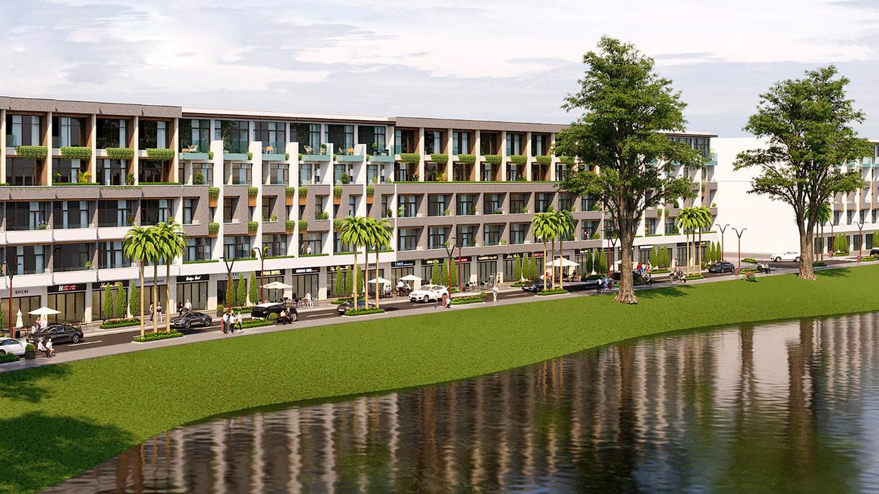 Khu đô thị Nam Hòa Xuân là một trong những dự án khu đô thị ven sông hiếm hoi tại Đà Nẵng hiện nay