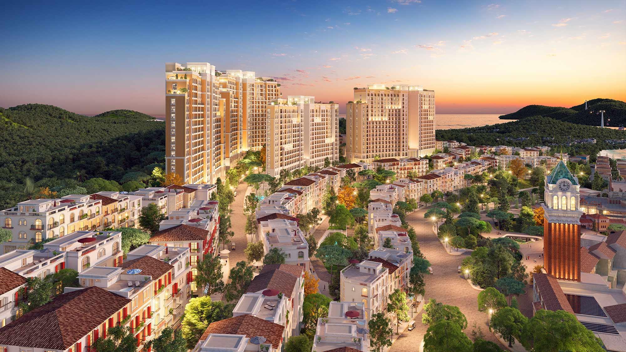 Sun Grand City Hillside Residence - Tổ hợp căn hộ cao tầng view biển đầu tiên tại Phú Quốc