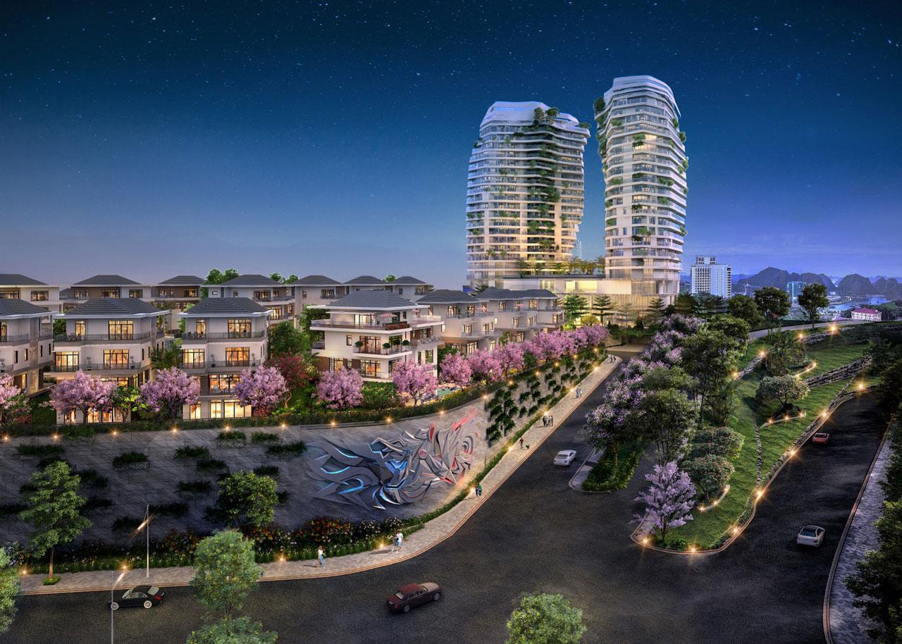 thiết kế dự án Phoenix Legend Ha Long Bay Hotel And Residences
