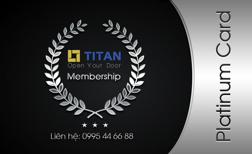 Thẻ Platinum - Titan Membership