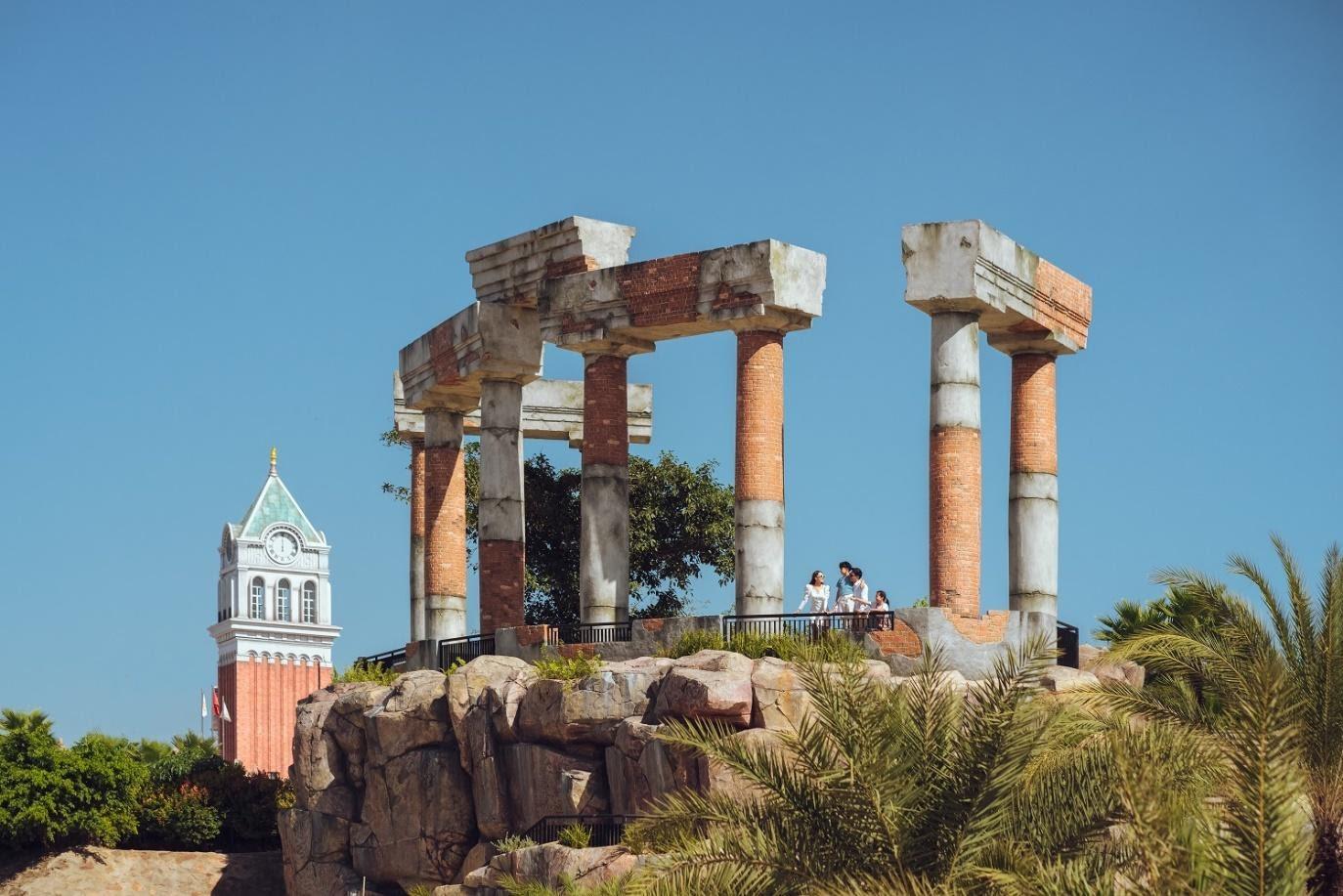 """Công trình biểu tượng mới của Phú Quốc - """"Pompeii cổ trấn"""""""