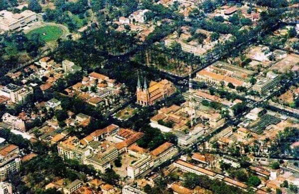 Từ thế kỷ XIX, Sài Gòn đã từng được quy hoạch theo bàn cờ từ thế kỷ XIX