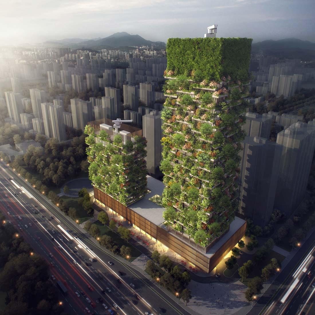 Đây là công trình kiến trúc Vertical Forest đầu tiên trên thế giới
