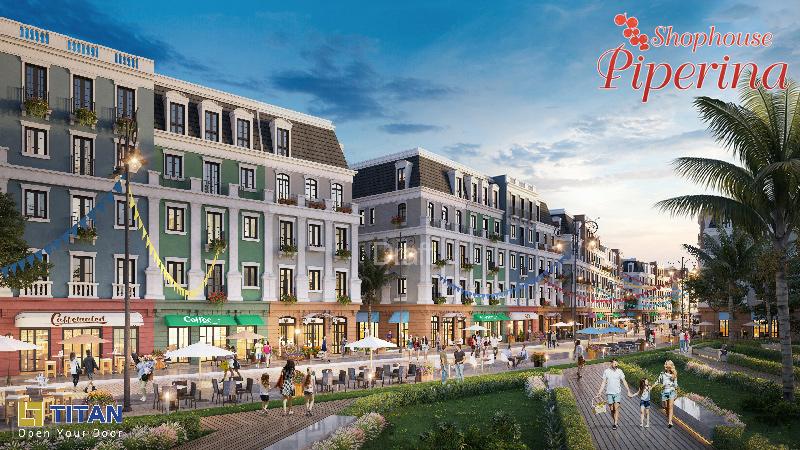Shophouse Bãi Kem - Ảnh 3D Dự án cập nhật tháng 10/2018