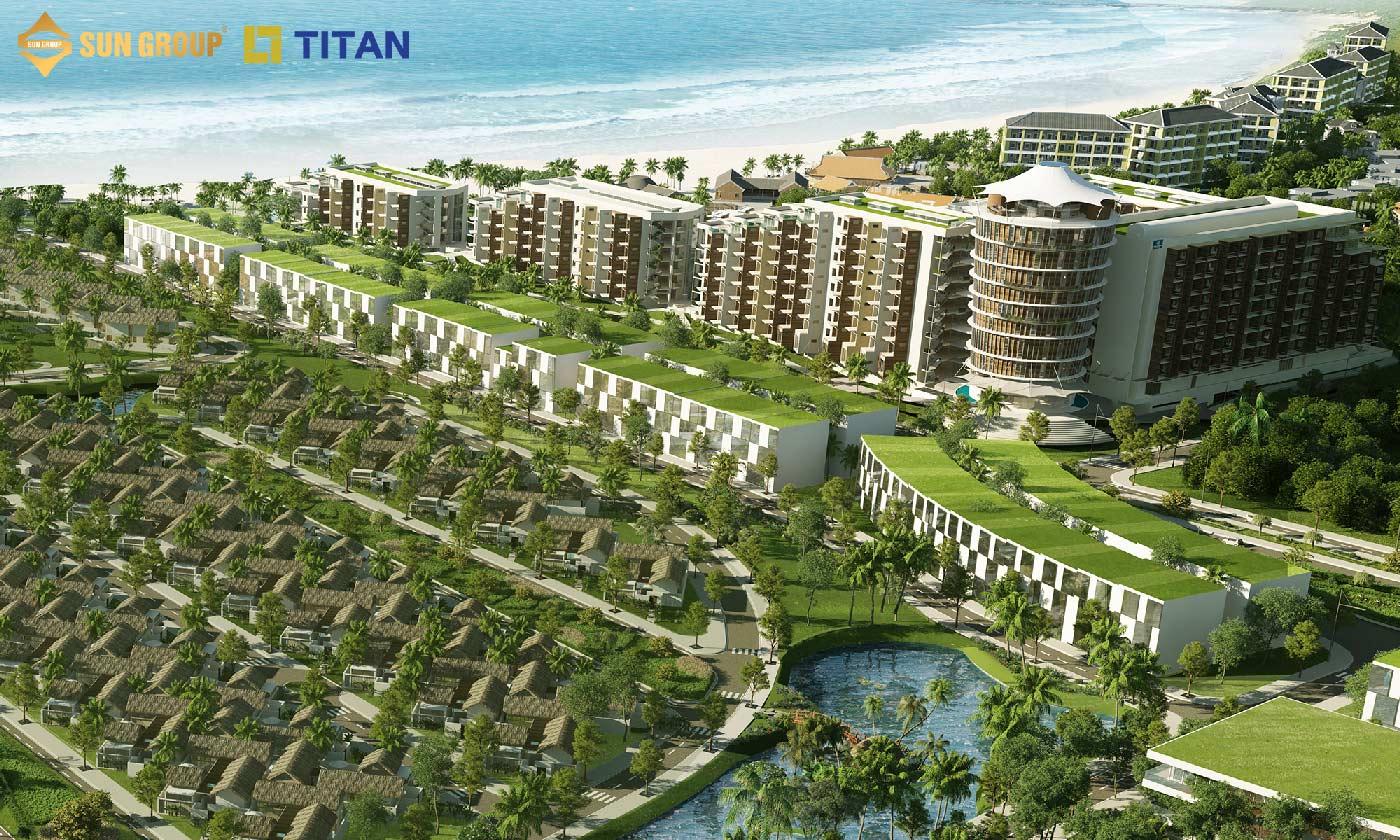 Shophouse Bãi Kem nằm giữa khu du lịch nghỉ dưỡng ven biển đắt giá nhất phía Nam Phú Quốc