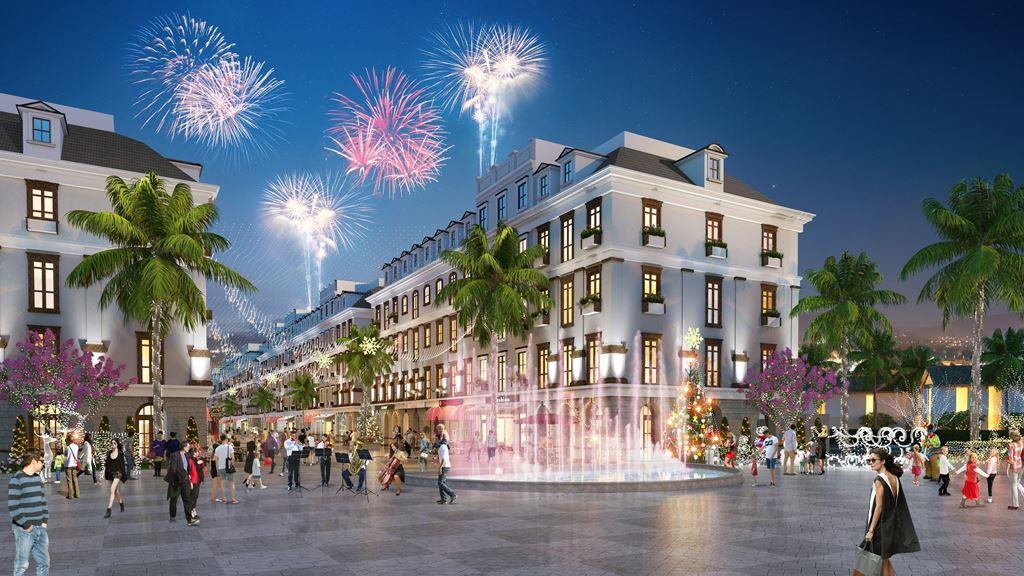 Shophouse Piperina - Kem Beach Resort giai đoạn 1 đang cực kì triển vọng tại Bãi Kem
