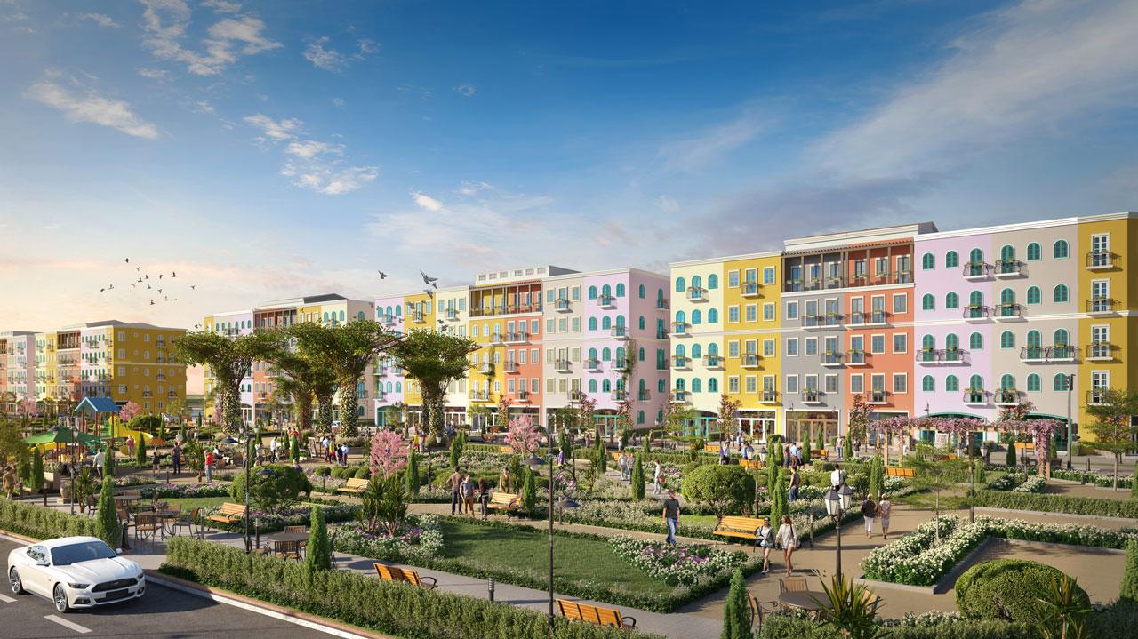 Với quy hoạch này, dự án được đánh giá tiên phong cho mô hình khu đô thị kiểu mẫu tại Việt Nam