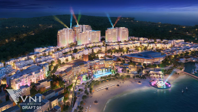 Show Vortex sẽ là đòn bẩy tăng giá cho bất động sản tại thị trấn Địa Trung Hải