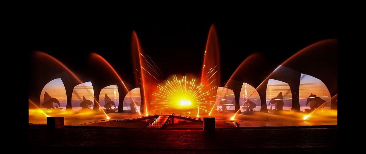 Du khách sẽ lần đầu tiên được trải nghiệm show trình diễn công nghệ Vortex tại Nam Phú Quốc