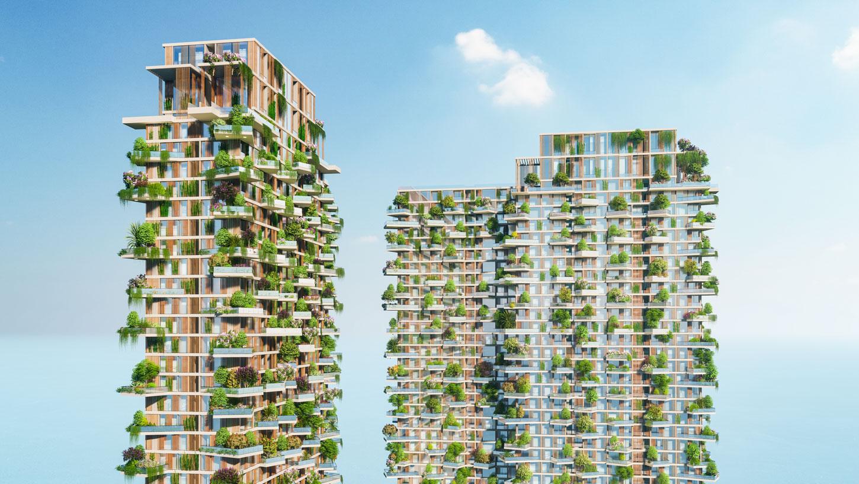 Thiết kế ấn tượng với 400 khu vườn trên cao của Sol Forest