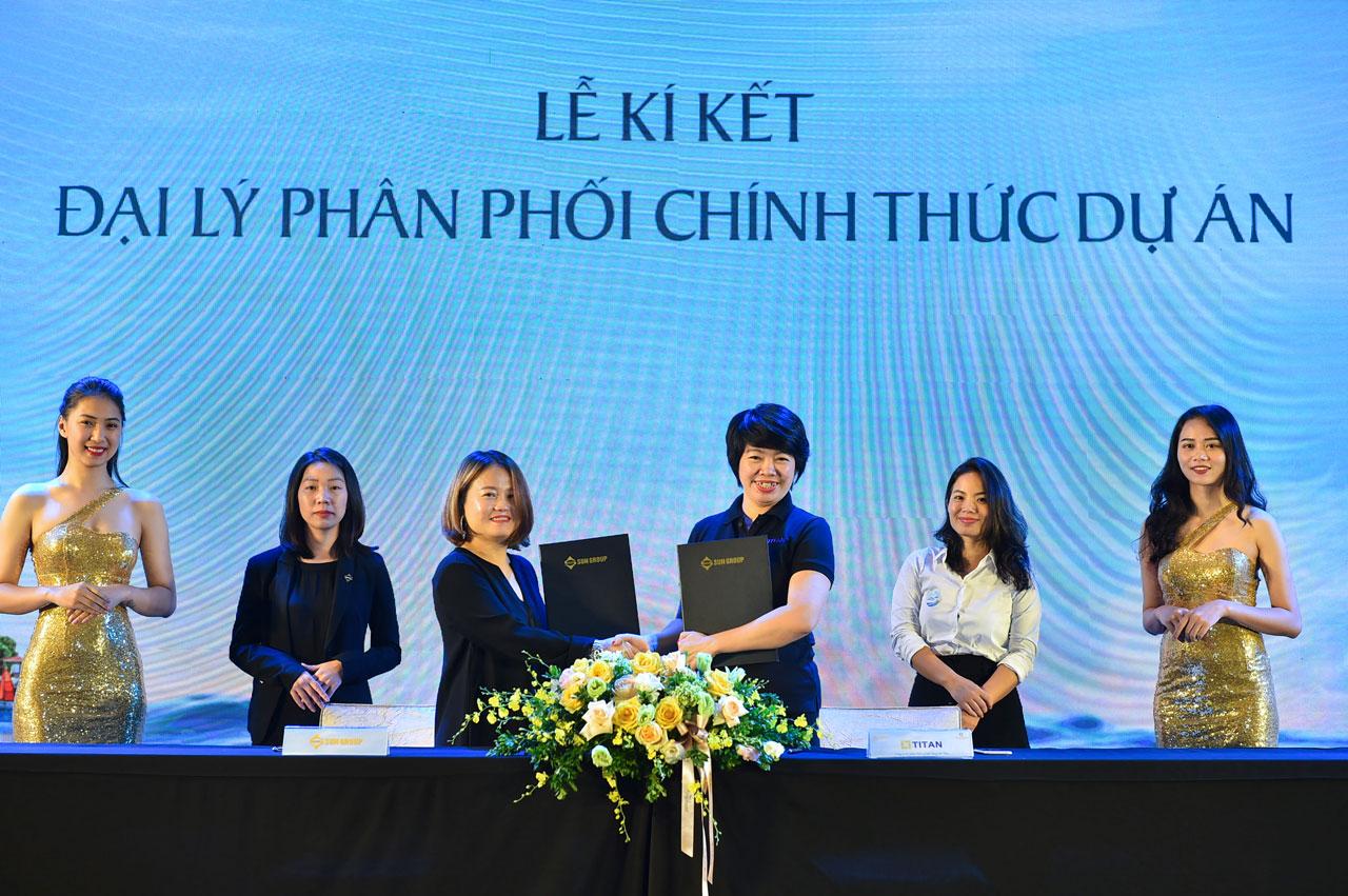 Titan - Đại lý phân phối chính thức dự án Sun Grand City New An Thoi