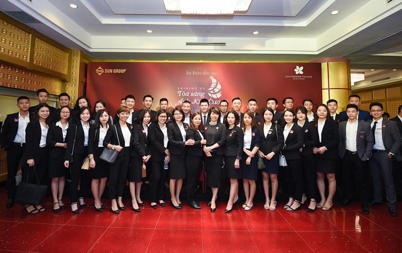 Nhân viên của Titan Group tham dự chương trình đào tạo quy mô lớn do Sun Group tổ chức