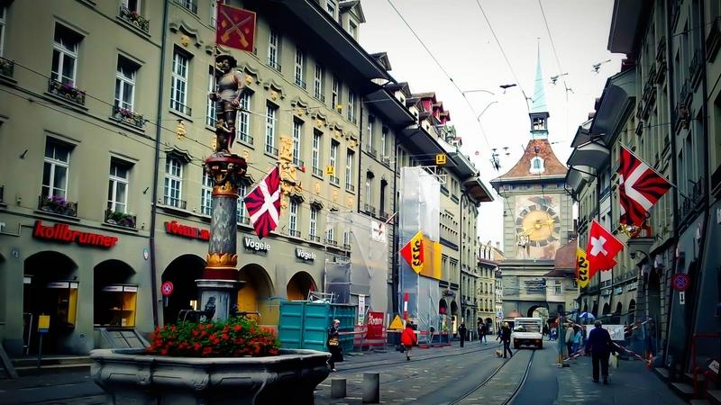 Tháp đồng hồ Zytglogge – Bern, Thụy Sĩ