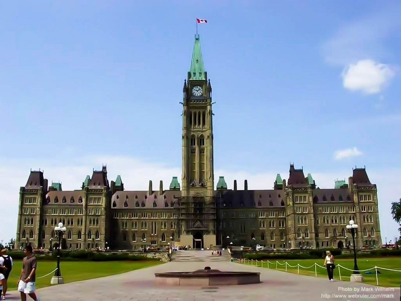 Tháp đồng hồ Hòa Bình – Ottawa, Canada