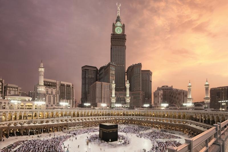 Tháp dồng hồ khách sạn Hoàng gia Makkah – Mecca, Saudi Arabia
