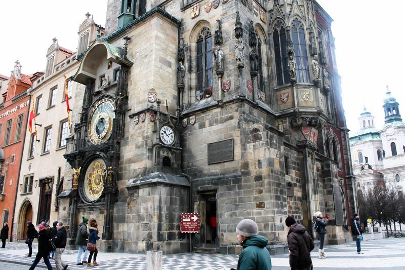 Tháp đồng hồ thiên văn Prague – Prague, CH Séc