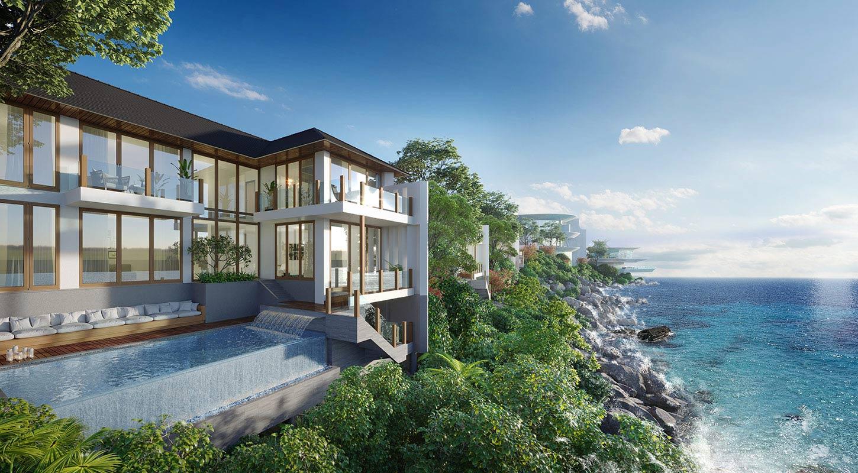 Biệt thự ghềnh đá The Eden Bay - VIP 50 được triển khai tại Mũi Ông Đội Phú Quốc sở hữu vị trí siêu đẹp, tầm view hướng biển trực diện