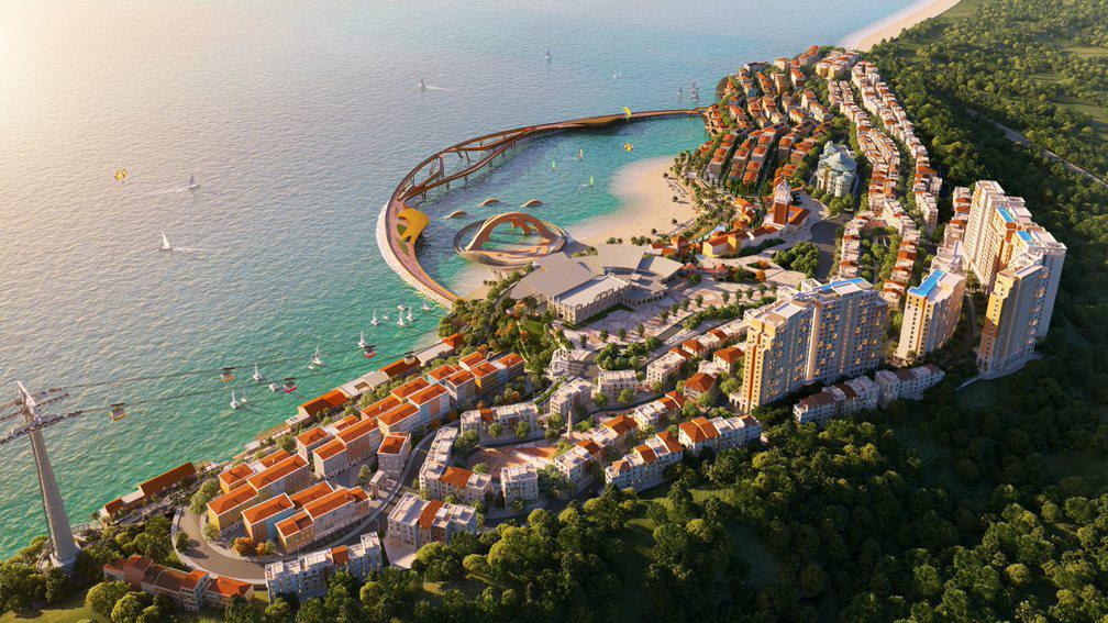 Thị trấn Địa Trung Hải mũi nhọn thương mại Phú Quốc