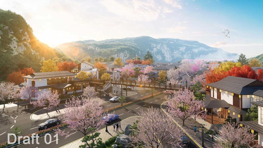 kinh doanh biet thu sun onsen village