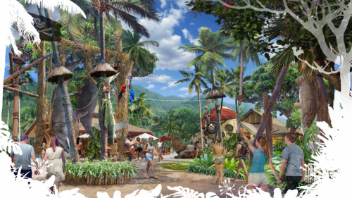 Công viên nước Aquatopia được thiết kế theo phong cách thổ dân hoang dã