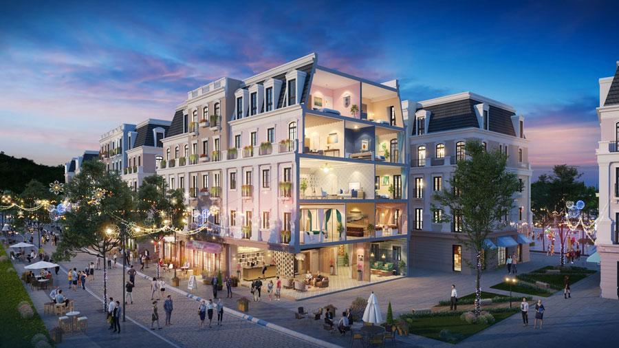Shophouse là một trong những sản phẩm được nhiều nhà đầu tư lựa chọn để phát triển dịch vụ lưu trú