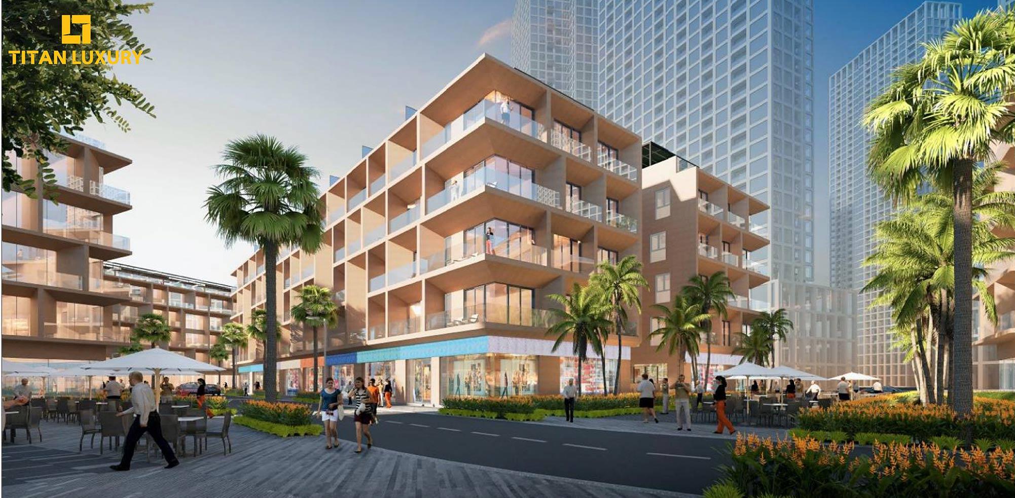 Thiết kế dự án Shophouse Sun Marina Plaza