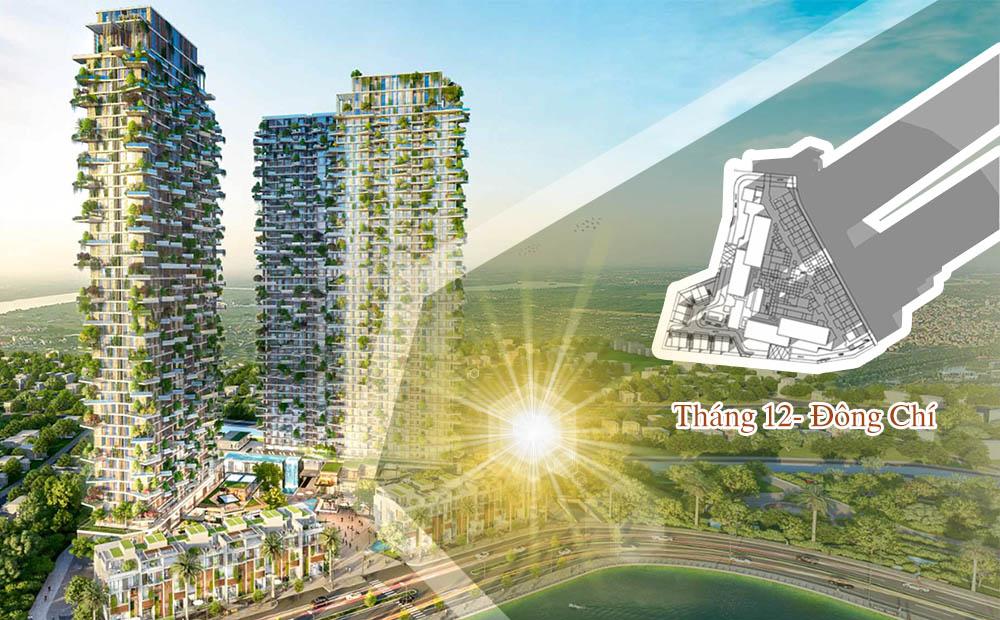 Thiết kế tỉ mỉ trong hướng nắng Ecopark tân Thời đại