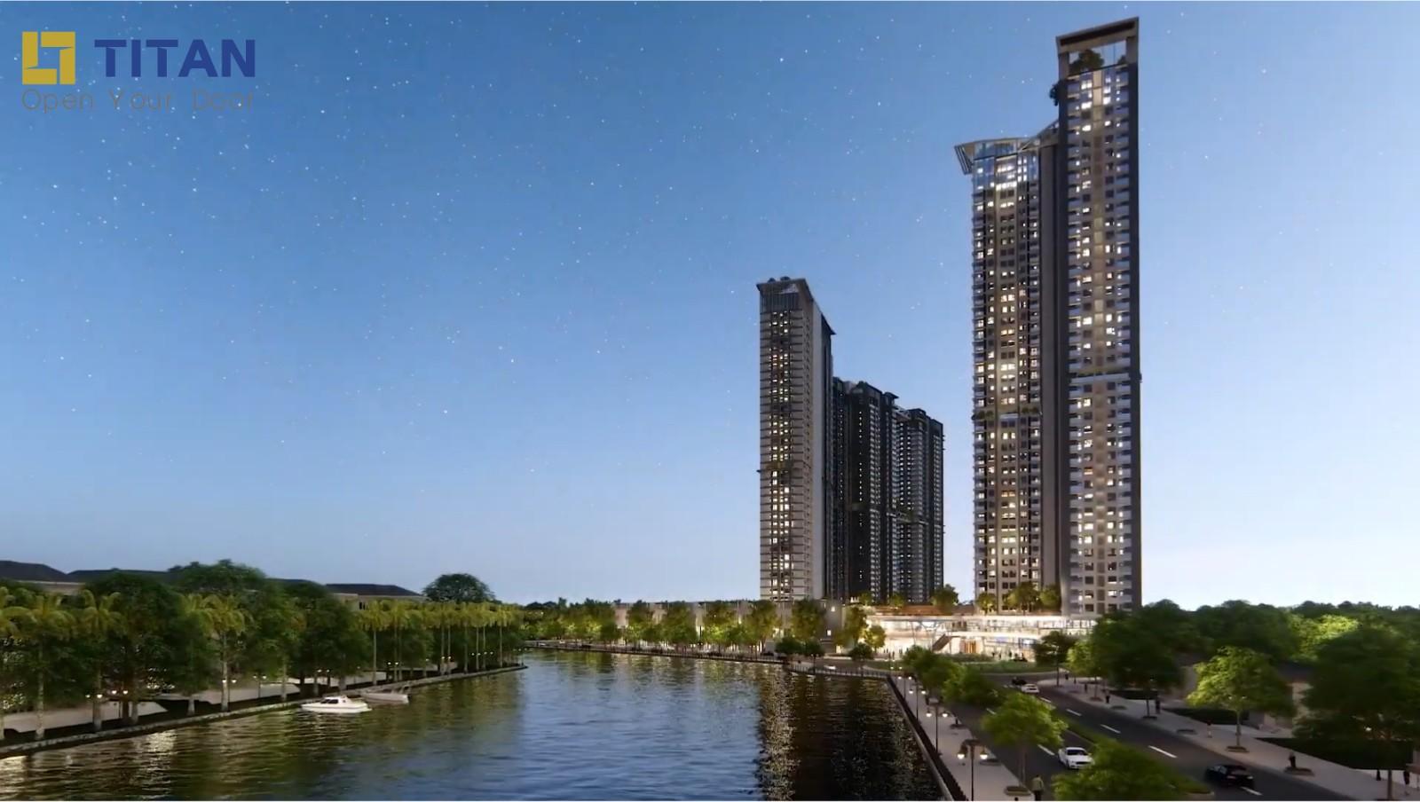 Tòa S3 chung cư Sky Oasis Ecopark