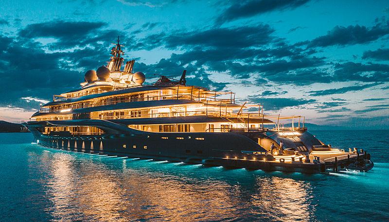 Chiếc du thuyền triệu đô của giới siêu giàu thế giới