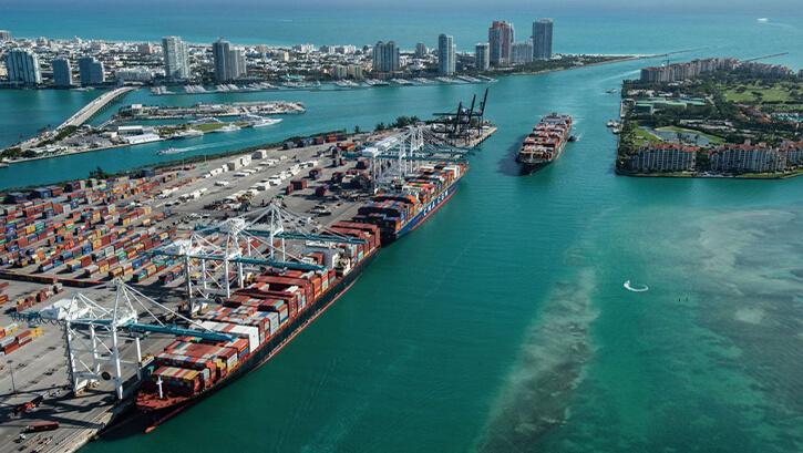 Thương cảng tại Miami được mệnh danh là kinh đô của những con tàu