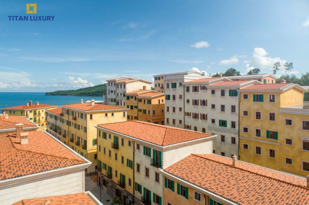 Bức tranh đầy màu sắc của những căn Shophouse Địa Trung Hải