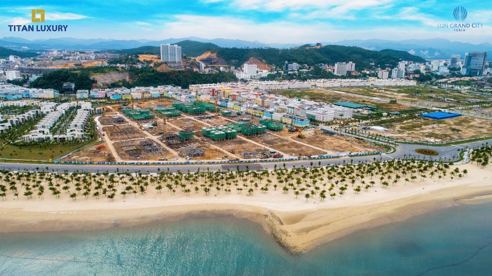 Phân khu Mallorca đang được đẩy mạnh thi công