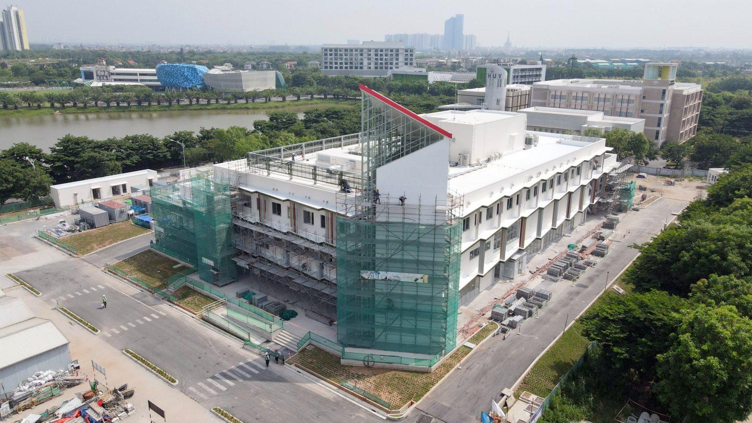 tiến độ bệnh viện Y khoa Tokyo