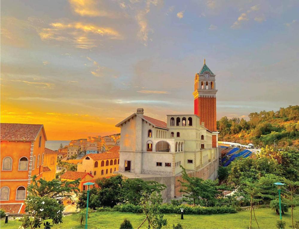tiện ích tháp đồng hồ dự án Sun Premier Village Primavera