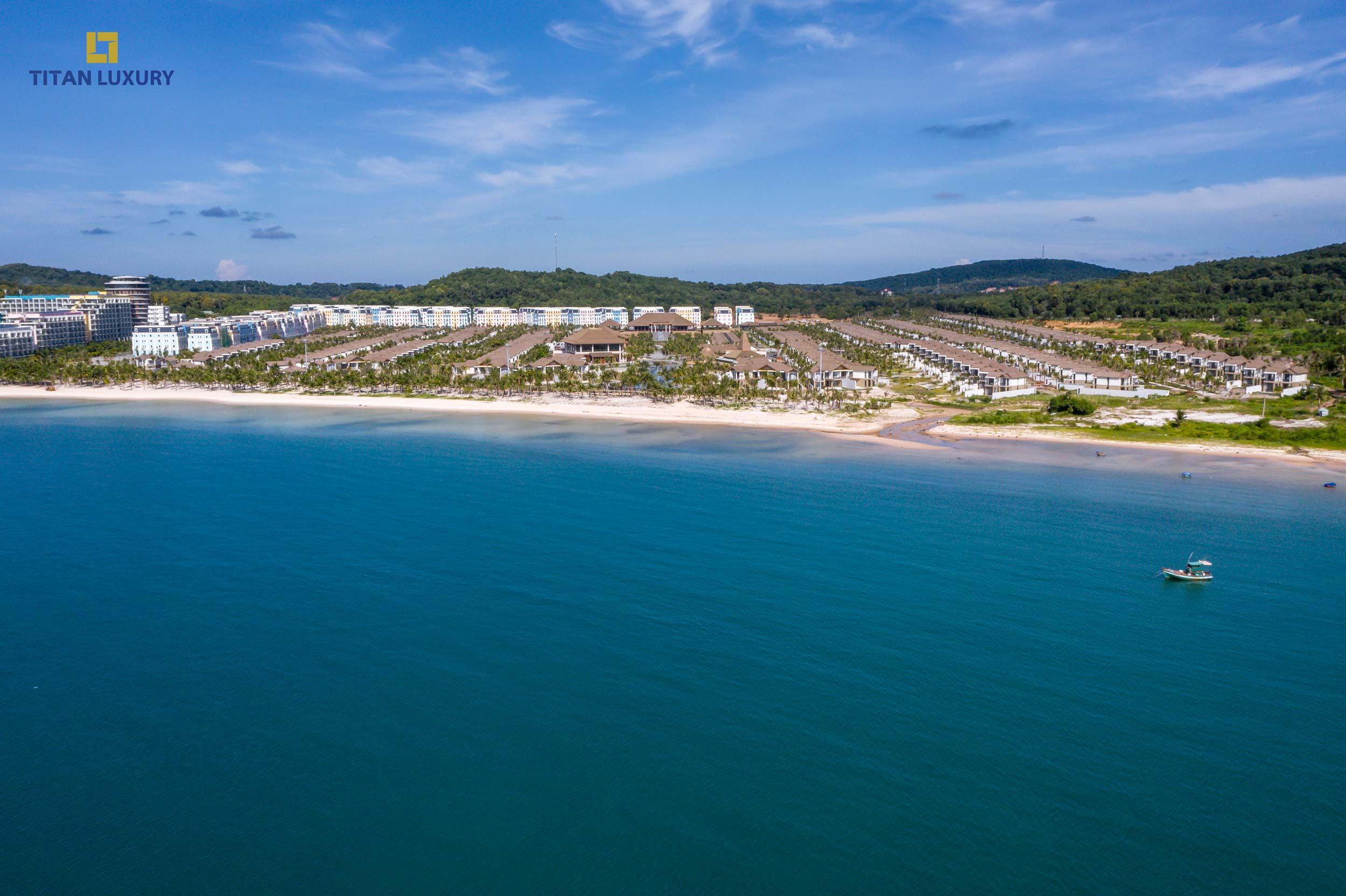 Khu nghỉ dưỡng New World Phu Quoc Resort đang dần hoàn thiện để đón những vị khách đầu tiên