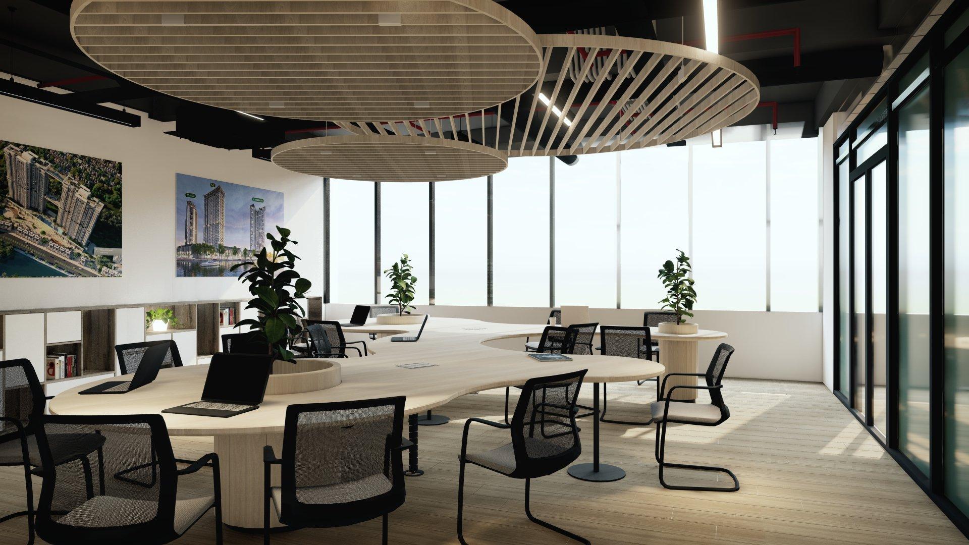 Văn phòng làm việc hiện đại, tiện nghi của Titan tại 15A Marina Arc