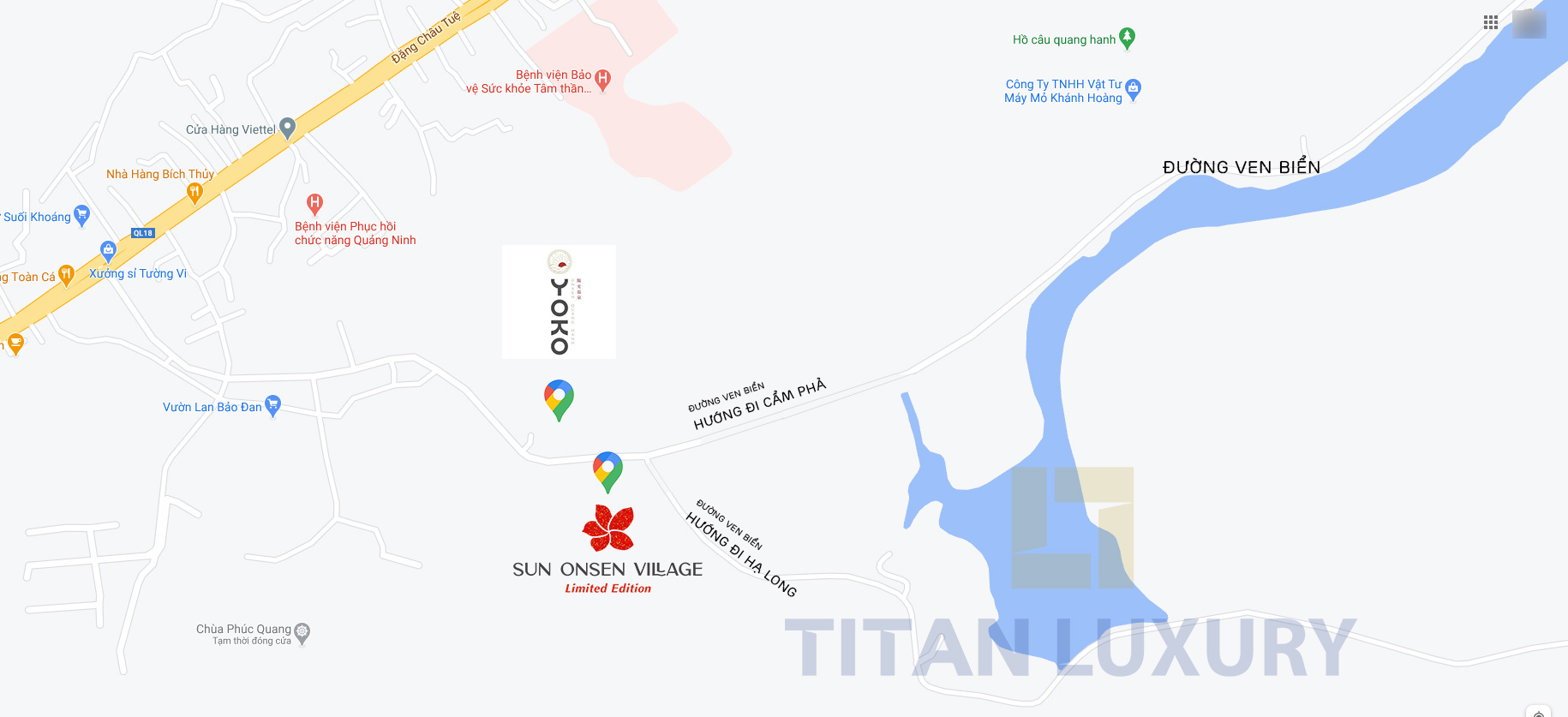 vi tri biet thu sun onsen village suoi khoang nong yoko onsen quang hanh o dau
