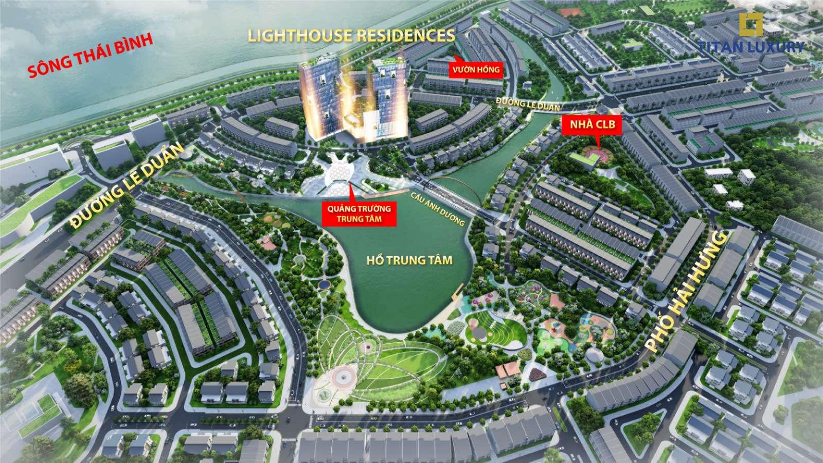 vị trí dự án Lighthouses Residences